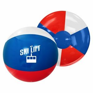 "12"" Red/White/Blue Beach Ball"