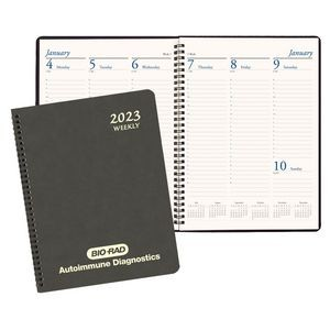 Professional Weekly Desk Appointment Planner w/ Canyon Cover