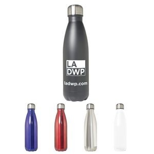 17 Oz. Stainless Steel Double Wall Vacuum Bottle