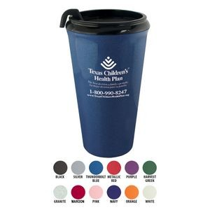 16 Oz. Infinity Tumbler Mug with Spill-Resistant Lid