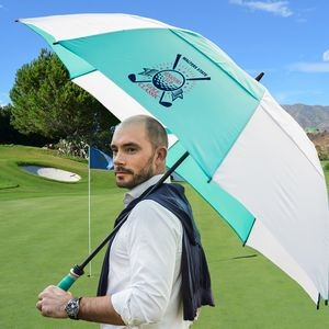 The Vented Typhoon Tamer Golf Umbrella