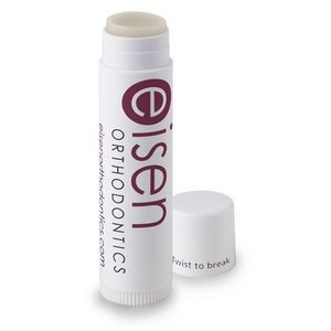 Lip Balm, Coconut Oil, SPF Free, White Stick