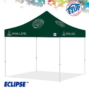Eclipse™ 10' x 10' Color Imprint Professional Tent w/ Steel Frame
